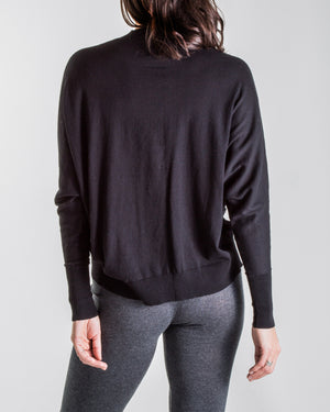 luxe cotton knit - relaxed crew neck jumper