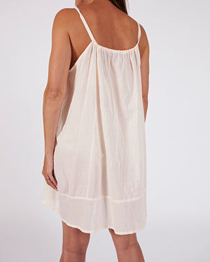 woven cotton slip nightie