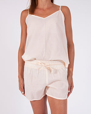 woven cotton camisole