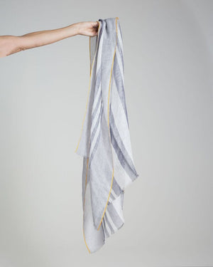 linen +  cotton scarf
