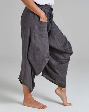 linen 'balloon' pants