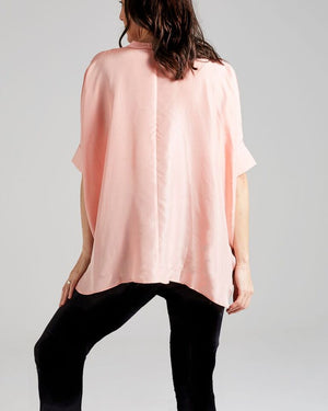 silk freestyle blouse