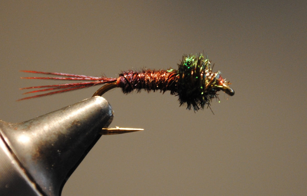 A Simple Red Pheasant Tail Nymph Pattern