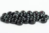 Blue Wing Olive Glass Beads for Fly Tying black
