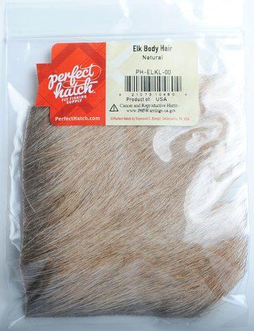 Perfect Hatch Elk Body Hair