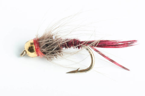 Bead Head CDC Pheasant Tail Nymph Fly, 6-Pack