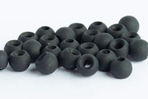 blue wing olive tungsten beads fly tying matte black