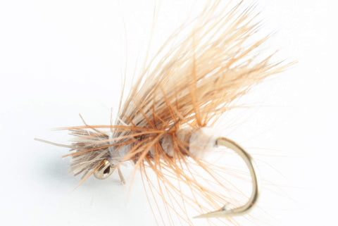 elk hair caddis dry fly tan