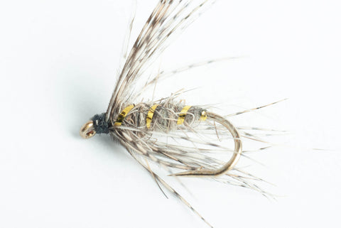 hare's ear soft hackle wet fly