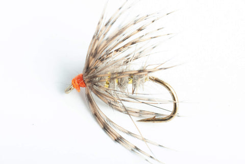 March Brown Spider Wet Fly, 6-Pack