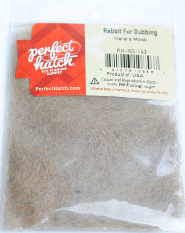 Perfect Hatch Rabbit Dubbing fly tying fishing