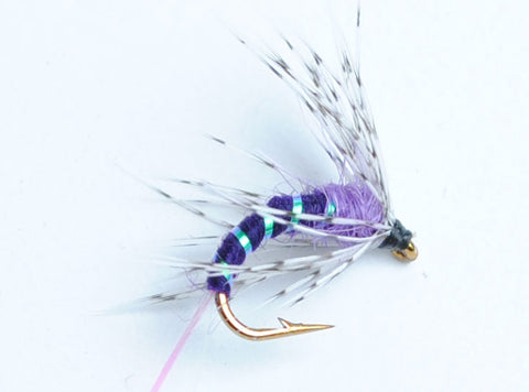 Purple Haze Soft Hackle Fly, 6-Pack