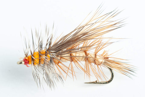 stimulator dry fly tan