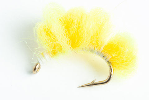 sucker spawn streamer fly niagra yellow