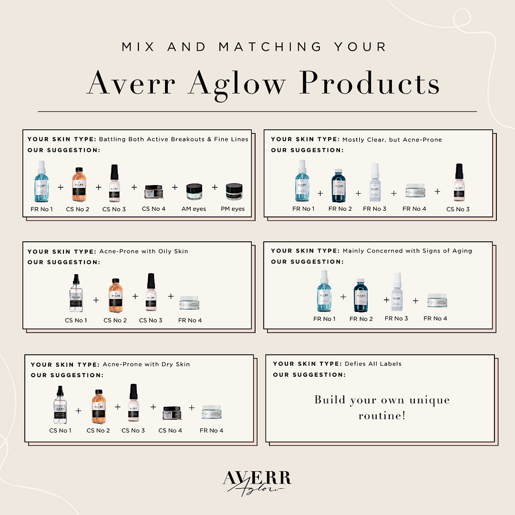 Mixing and Matching Your Averr Aglow Products