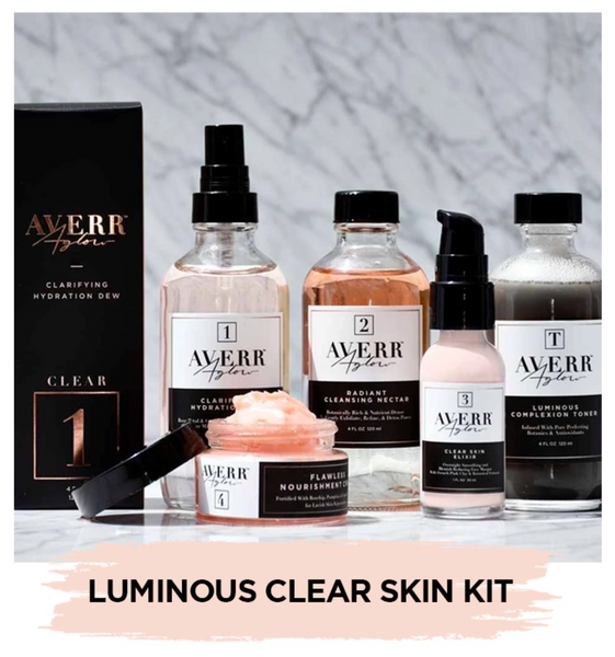 Averr Aglow Luminous Clear Skin Kit