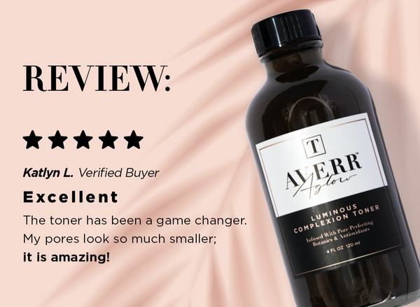 Averr Aglow Luminous Complexion Toner review