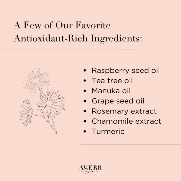 antioxidant-rich ingredients list