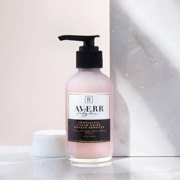 Averr Aglow Completely Clear Gelee Makeup Remover