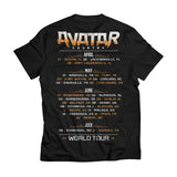 Avatar Country Circus Tour Tee