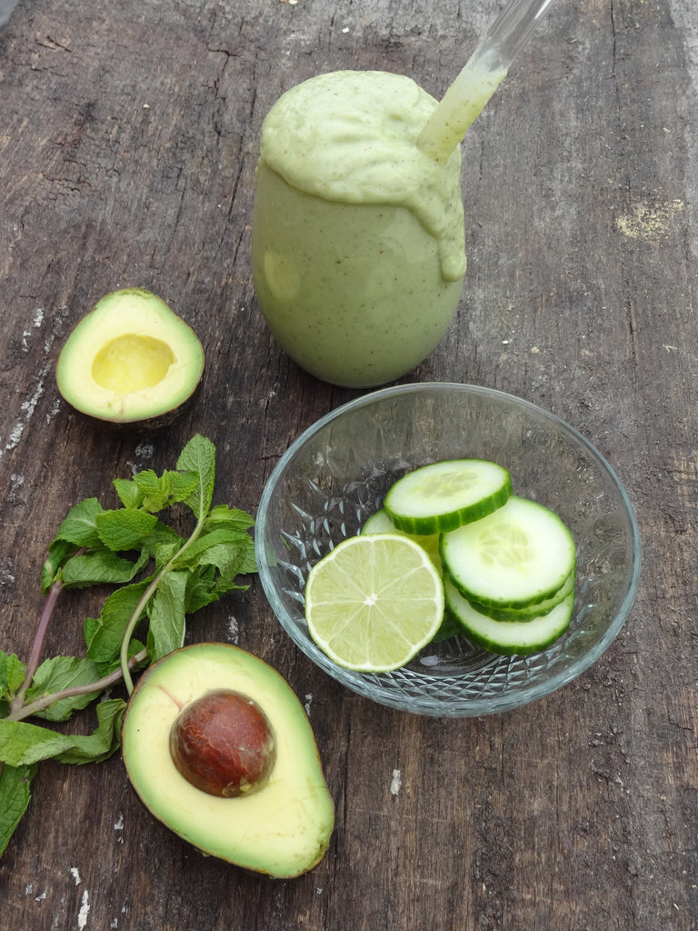 Cool As A Cucumber Smoothie by Ashleigh Grange