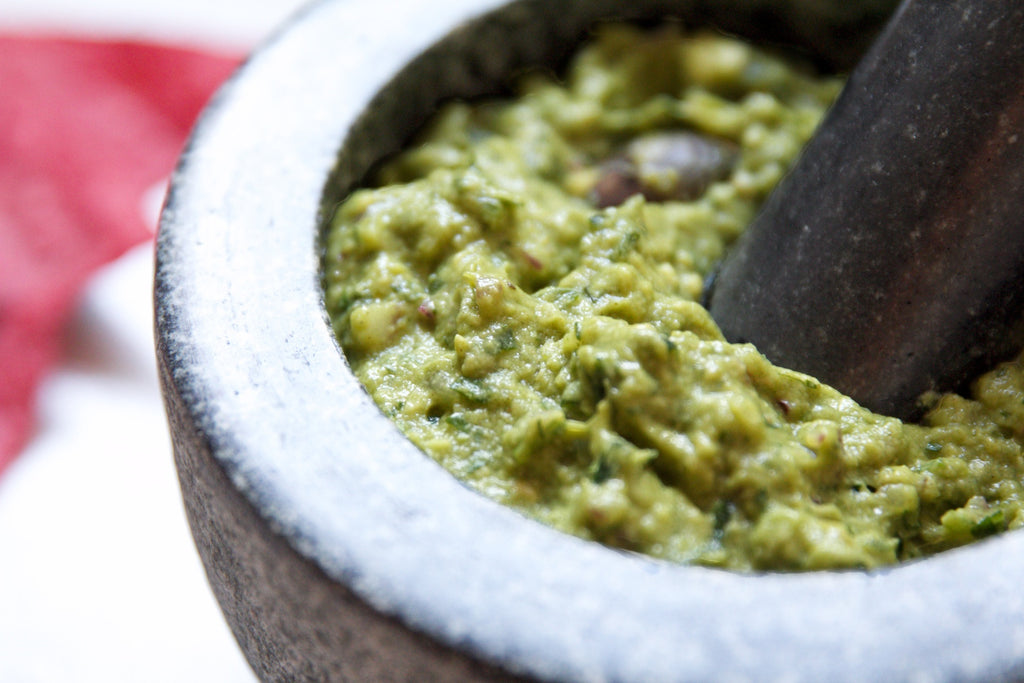 Moringa Guacamole by Rena Williams
