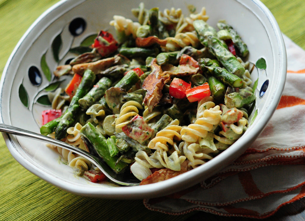 Creamy Pasta Primavera by Noelle Smith