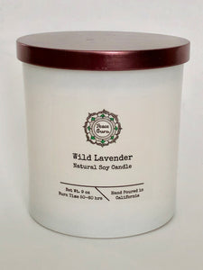 Wild Lavender - 8oz. Soy Candle