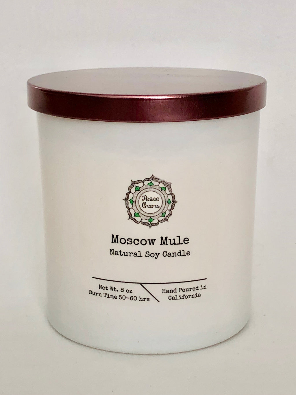 Moscow Mule- 8oz. Soy Candle