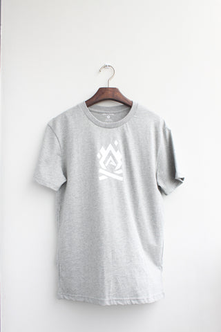 Graphic tee - Fire - [Grey]