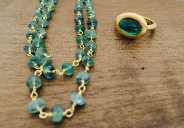 Emeralds are all about color!
