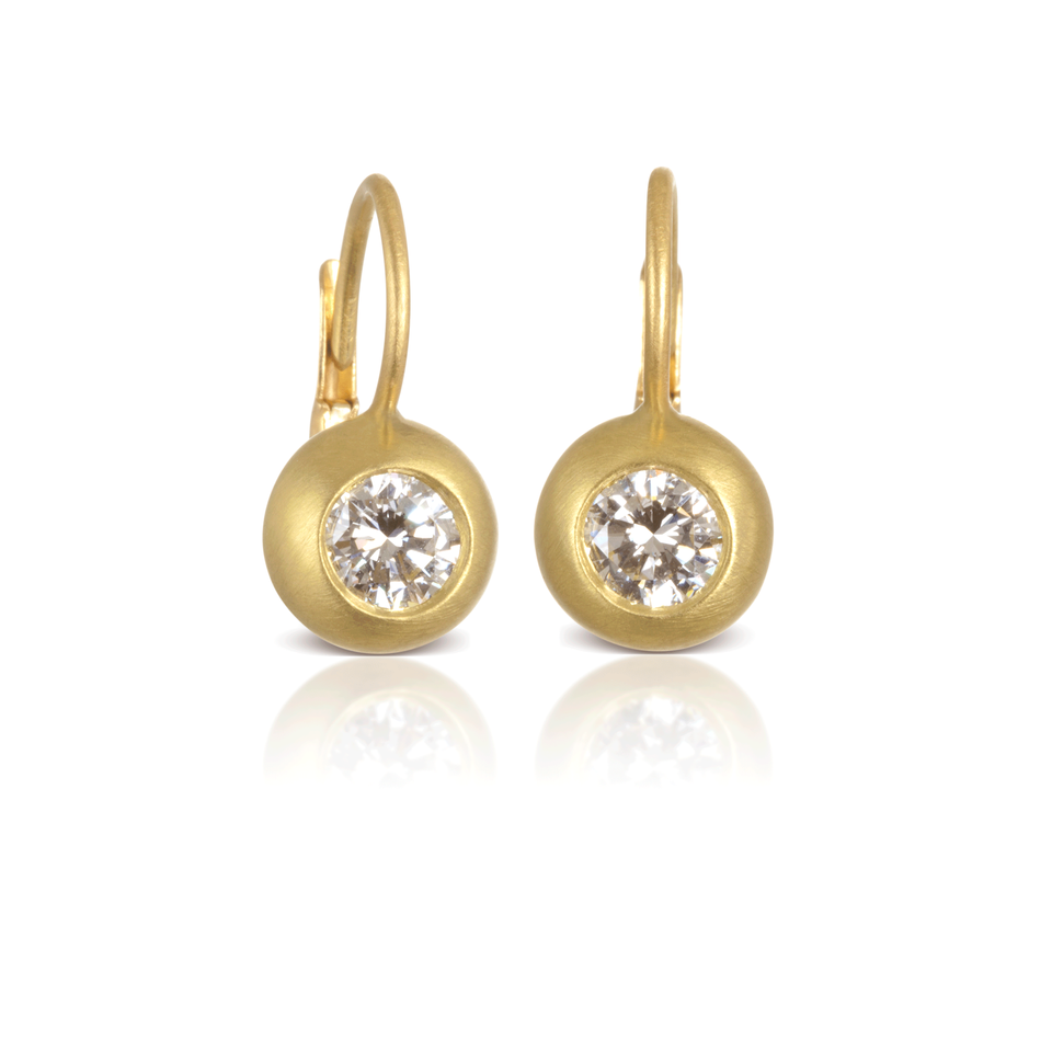 Diamond Dome Earrings