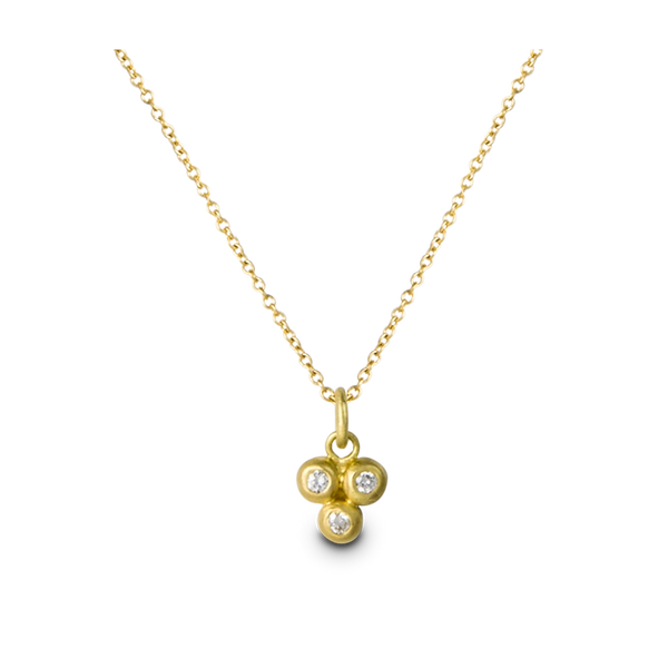 Diamond Granulation Pendant