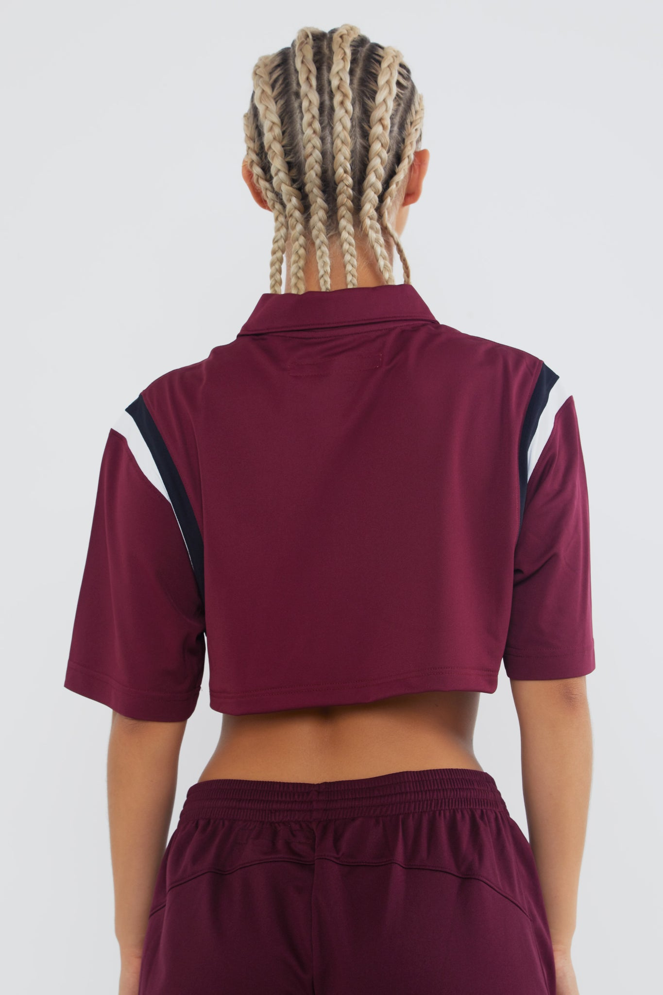 """Second Wind"" Crop Polo"
