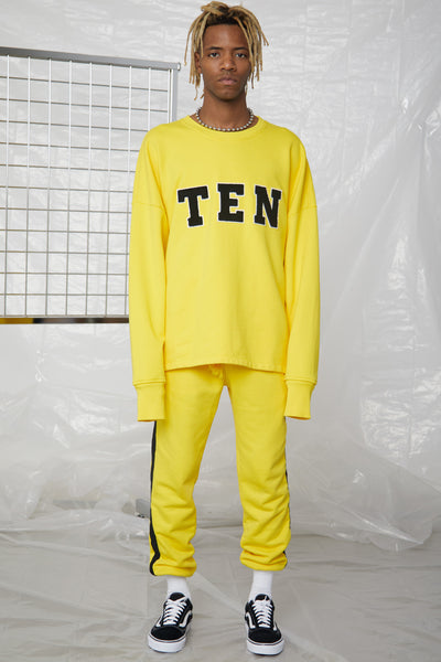 MUSTARD X TWELVE Fleece Crewneck