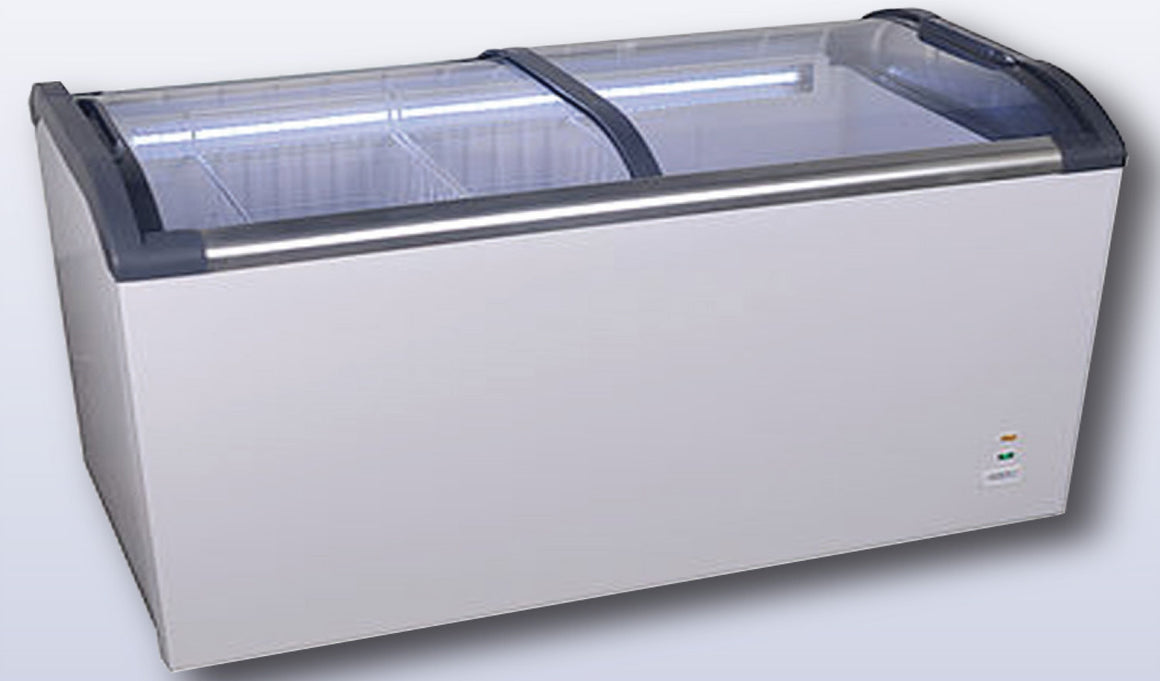 Glass Top Chest Freezer GQ-600L