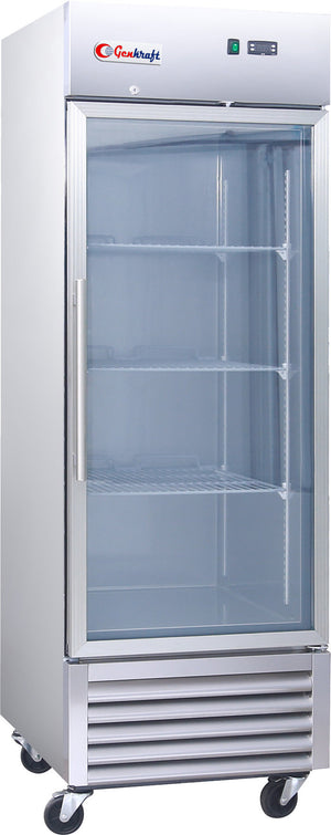 Single Glass Door Refrigerator