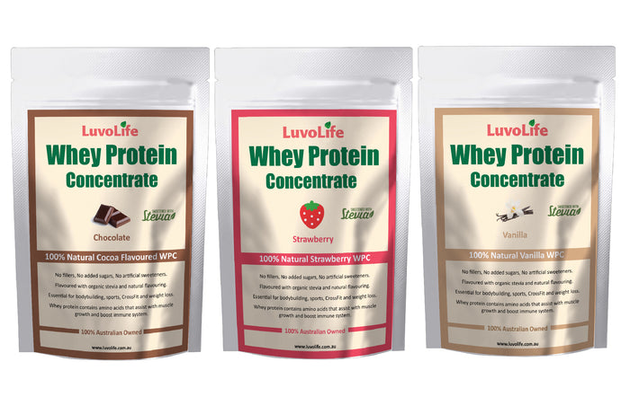Whey Protein Concentrate - 3kg