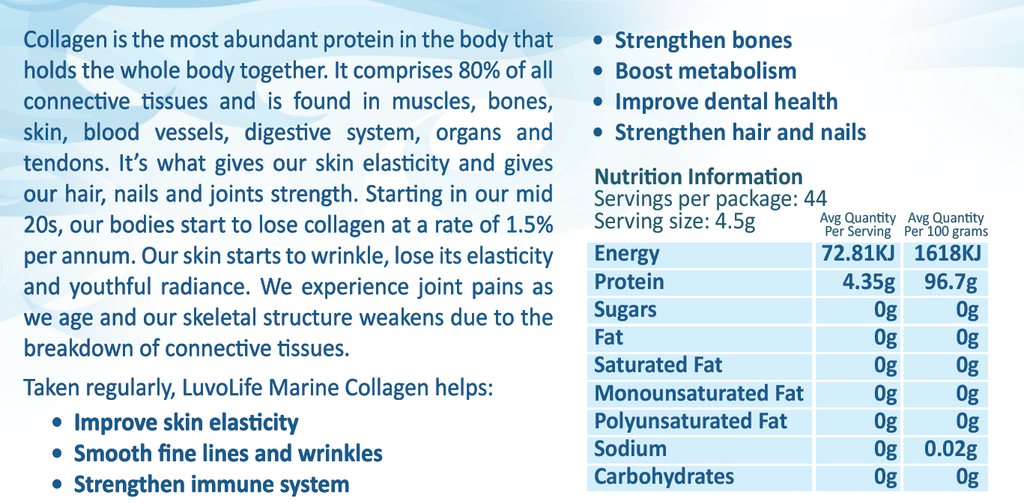 Marine Collagen 200g x 3