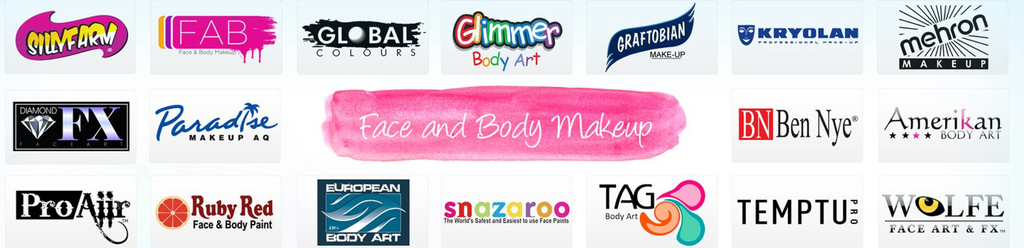 Face painting brands we carry