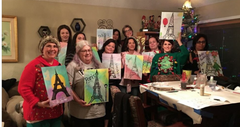 Private Paint Parties at Your Home or Venue in Sacramento