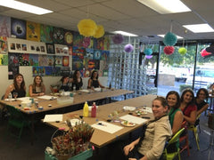 Team Building Painting Event at Just For Fun Art in Sacramento