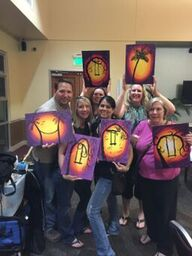 Private Sip and Painting Event at Your Home or Venue in Sacramento