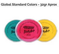 Global Face Paint Standard Colors