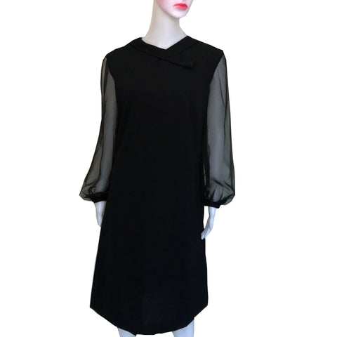 Vintage 1960s Puritan Forever Young Mod Dress