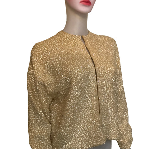 1950s SEQUIN CARDIGAN