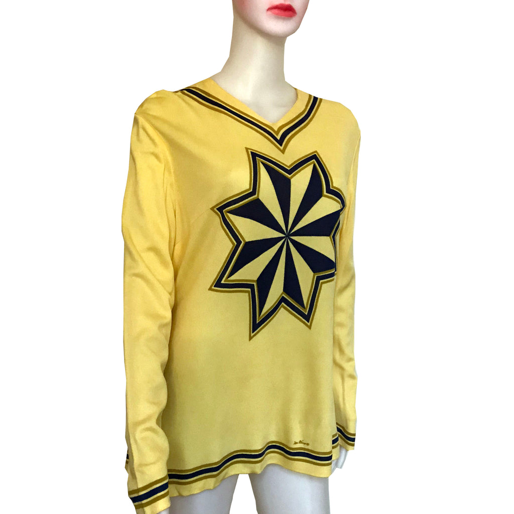 Vintage 1960s Mr. Dino Starburst Pullover Top