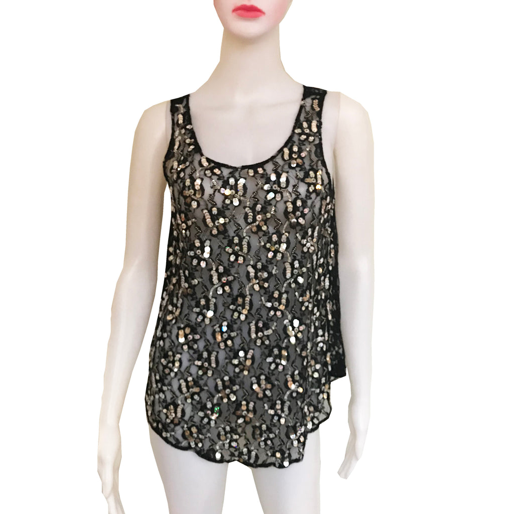 Romeo & Juliet Sequined Tank Top