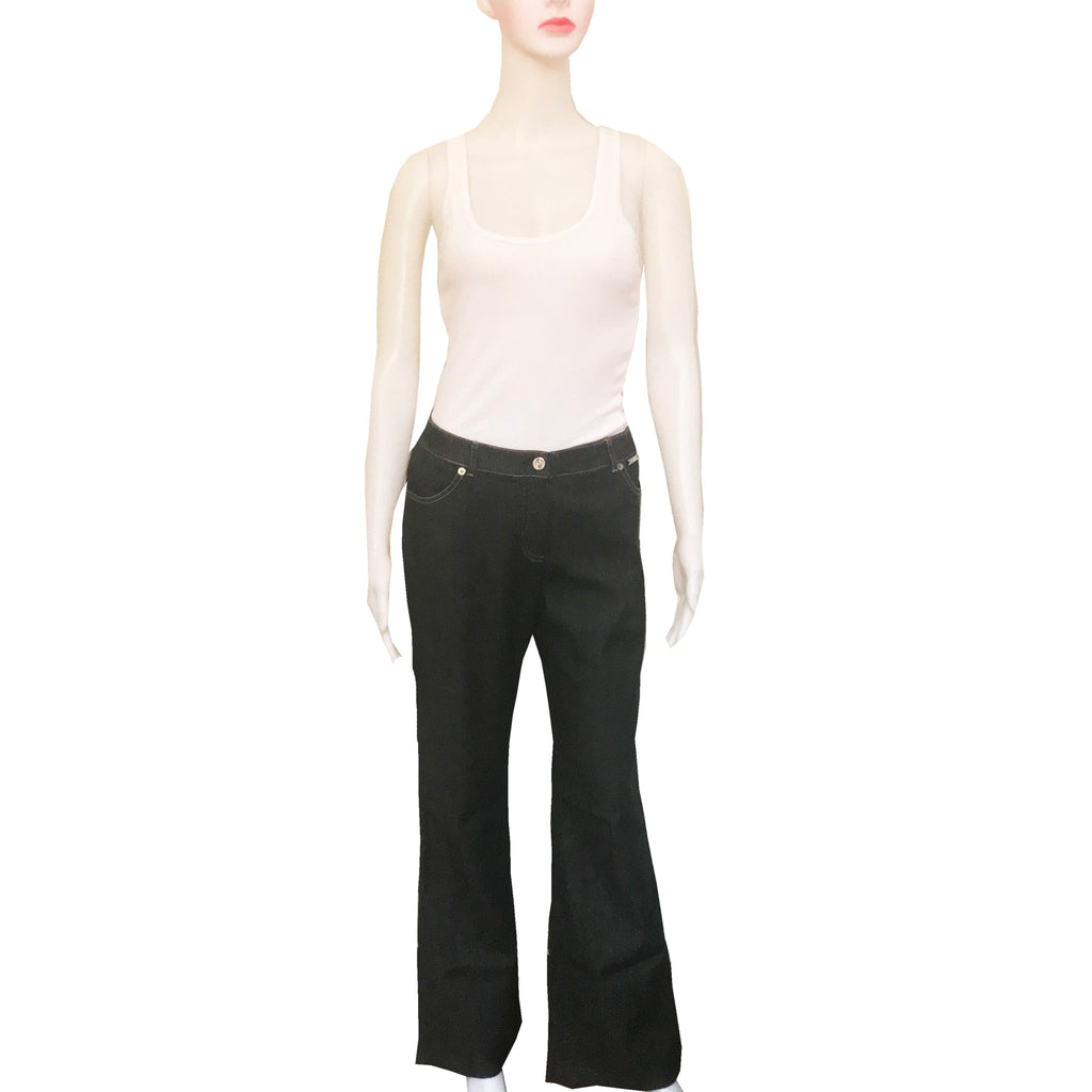 St. John by Marie Gray Black Jeans