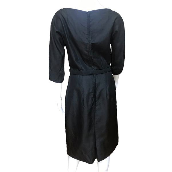 Vintage 1950s Malcolm Charles Little Black Dress